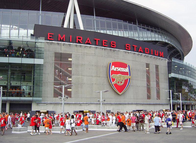 Emirates Stadium Arsenal Foto:wikimediacommons