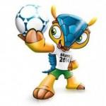 Maskoten for Brasil VM 2014