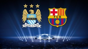 Manchester City vs Barcelona Champions League 18.february