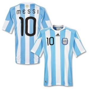 Lionel Messi landslagsdrakt Argentina