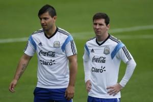 Messi og Aguero