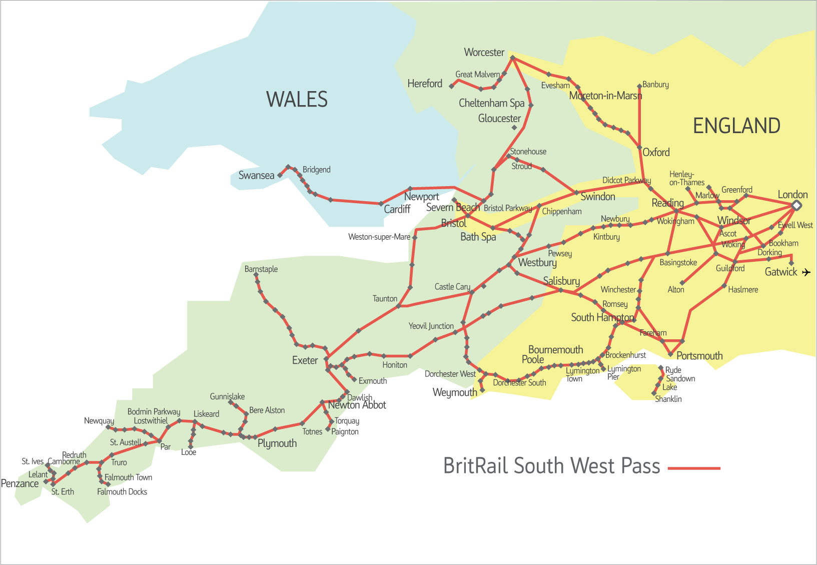 BritRail-South-West-Map